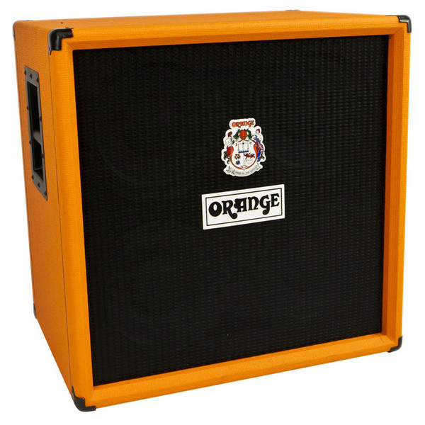 Orange OBC 410 Bass Cab (Front Left)