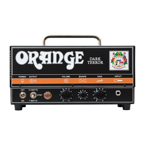 Orange Dark Terror Guitar Amp Head (Front)