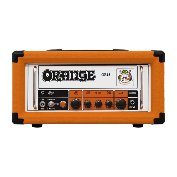 Orange OR15, 15W Pics Only Guitar Head (Front)