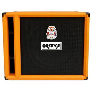 Orange OBC 115 Bass Speaker Cabinet (Front)