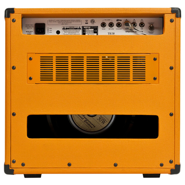 Orange Thunder TH30C Guitar Combo Amp (Back)