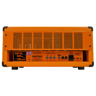 Orange AD30HTC Guitar Amp Head (Back)