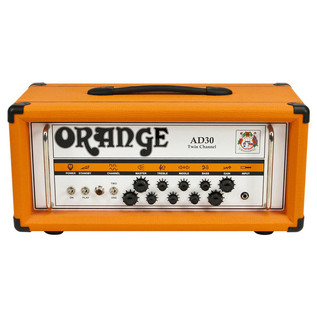 Orange AD30HTC Guitar Amp Head (Front Centre)