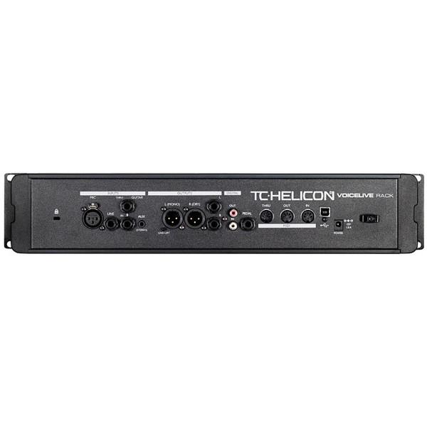 TC Helicon VoiceLive Rack Vocal Processor Rear