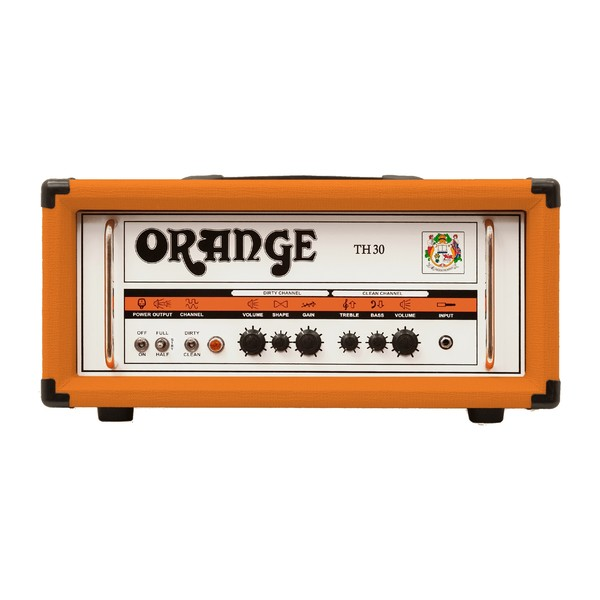 Orange Thunder TH30H Guitar Amp Head (Front)
