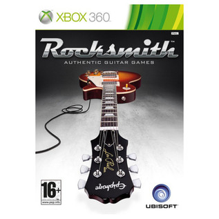 Ubisoft Rocksmith + Electric-ST Guitar, White Xbox Package