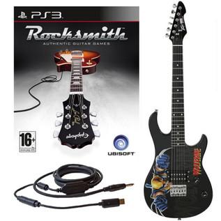 Ubisoft Rocksmith + MARVEL Wolverine 3/4 Guitar PS3 Package