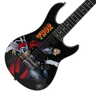 Ubisoft Rocksmith + MARVEL Thor 3/4 Guitar PS3 Package