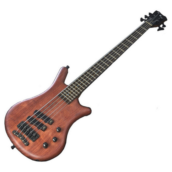 Warwick Thumb Bolt-On 5-String Bass, Natural OF, Black Hardware (Main)