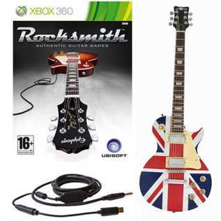 Ubisoft Rocksmith + Electric-GB Guitar Xbox Package