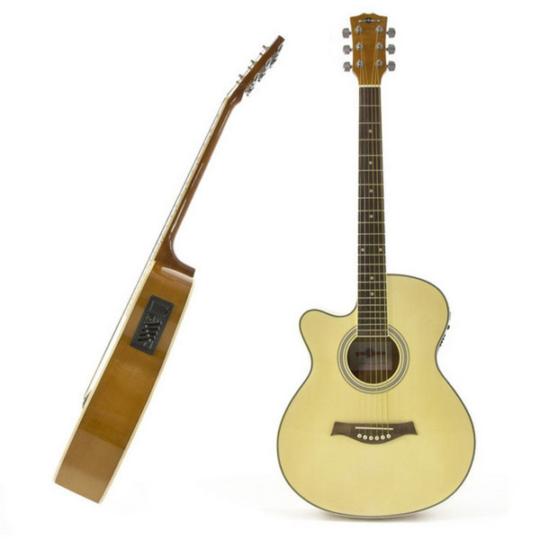 Single Cutaway L/H Electro Acoustic + Complete Pack by Gear4music - guitar