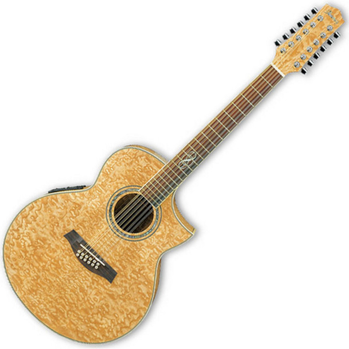disc ibanez ew2012ase nt 12 string acoustic guitar natural at. Black Bedroom Furniture Sets. Home Design Ideas
