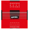 Warwick 42301 Red Label Cuerdas de Bajo Medianas (45-135), Pack de 5