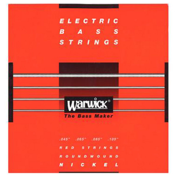 Warwick 46200 Red Label Medium Bass Strings (45-105), 4-String