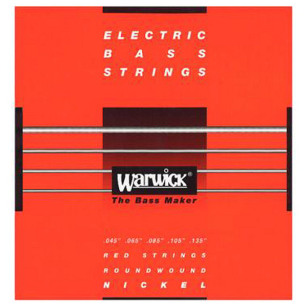 Warwick 46301 Red Label Medium Bass Strings (45-135), 5-String