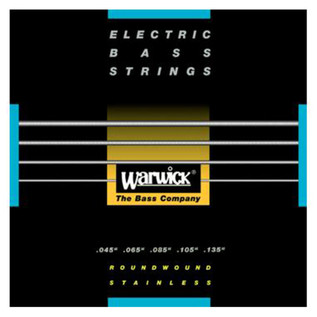 Warwick 40301 Black Label Medium Bass Strings (45-135), 5-String