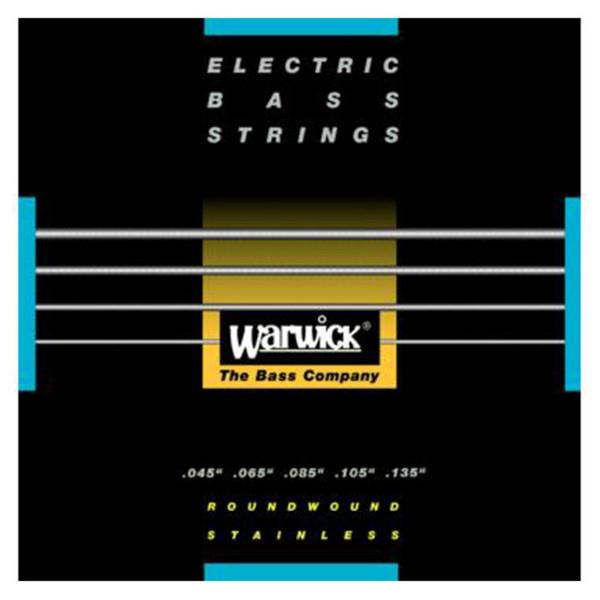 Warwick 40301 Black Label Medium Bass Strings (45-135), 5-String
