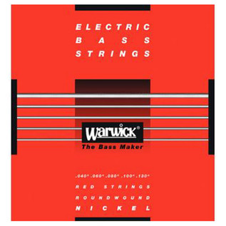Warwick 46300 Red Label Medium-Light Bass Strings (40-130), 5-String