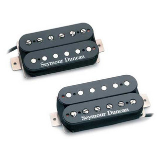 Seymour Duncan Hot Rodded Humbucker Set - SH-4/SH-2, Black