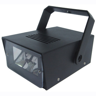 Cheetah Battery Operated LED Mini Strobe, Black