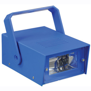 Cheetah Battery Operated LED Mini Strobe, Blue