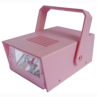 Cheetah Battery Operated LED Mini Strobe, Pink