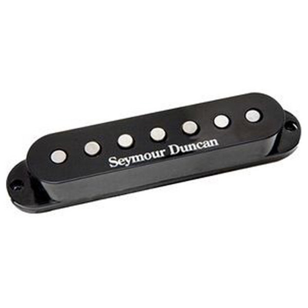 Seymour Duncan SSL-1 Vintage Staggered Strat Pickup, Black, 7 String