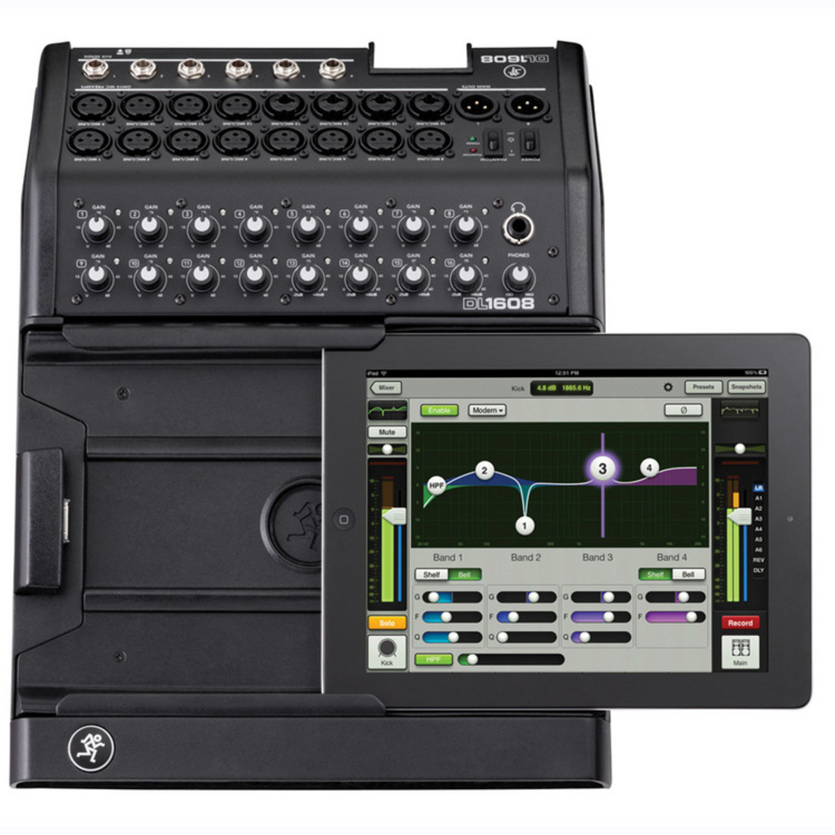 mackie dl1608 16 channel digital live sound mixer with ipad control at gear4music. Black Bedroom Furniture Sets. Home Design Ideas