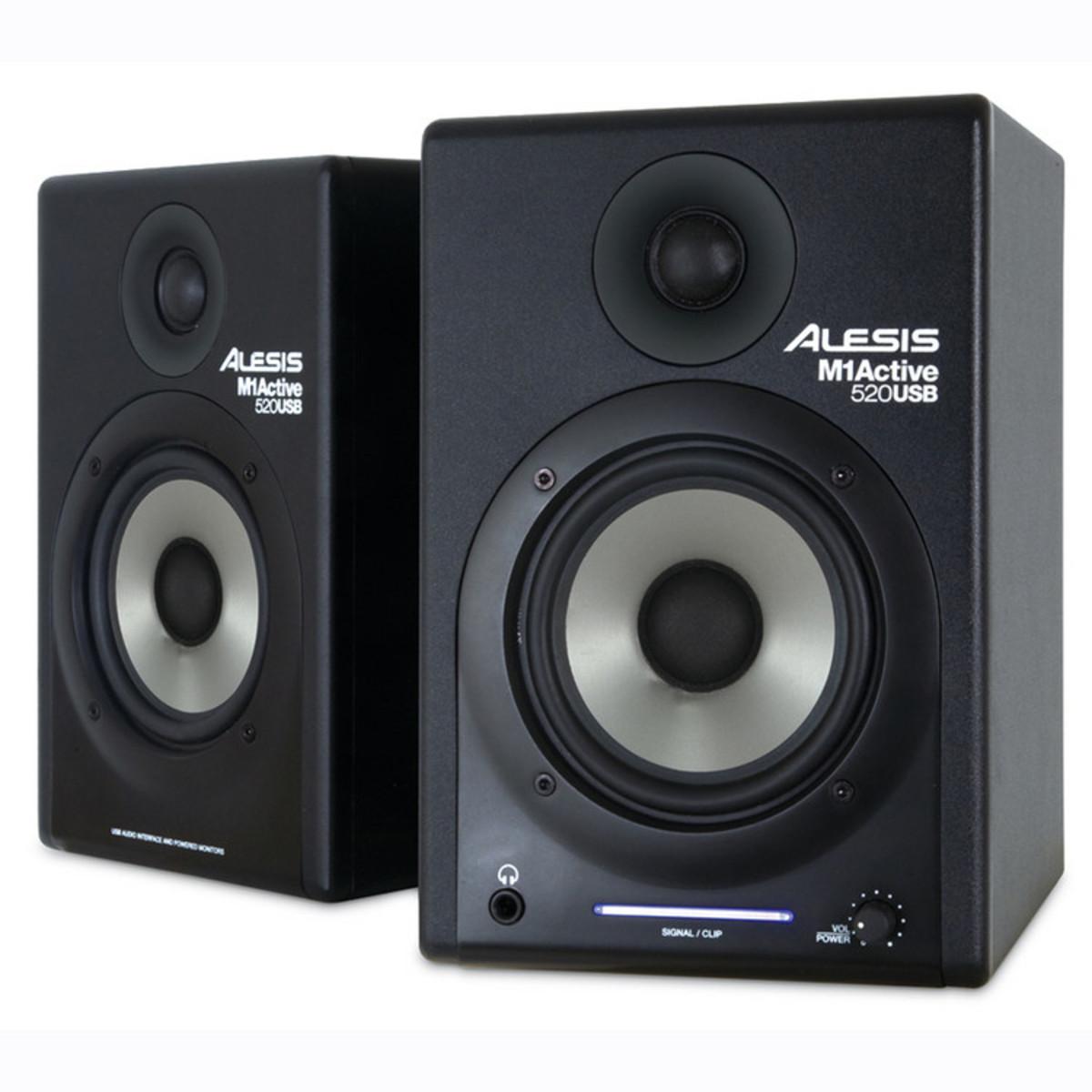 Alesis M1 Active 520 : alesis m1 active 520 usb active studio monitors pair at ~ Hamham.info Haus und Dekorationen
