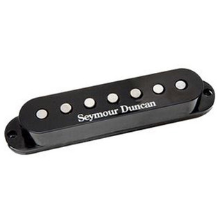 Seymour Duncan SSL-5 Custom Staggered Strat Pickup, Black, 7 String