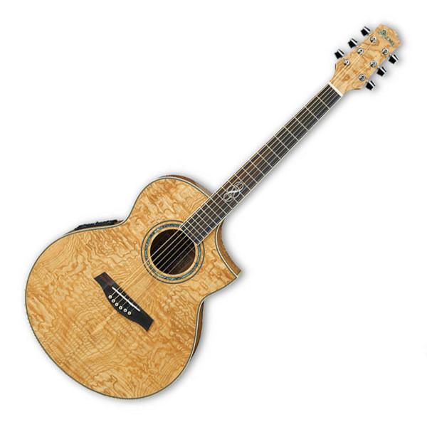 Disc Ibanez Ew20ase Exotic Wood Electro Acoustic Guitar Nat