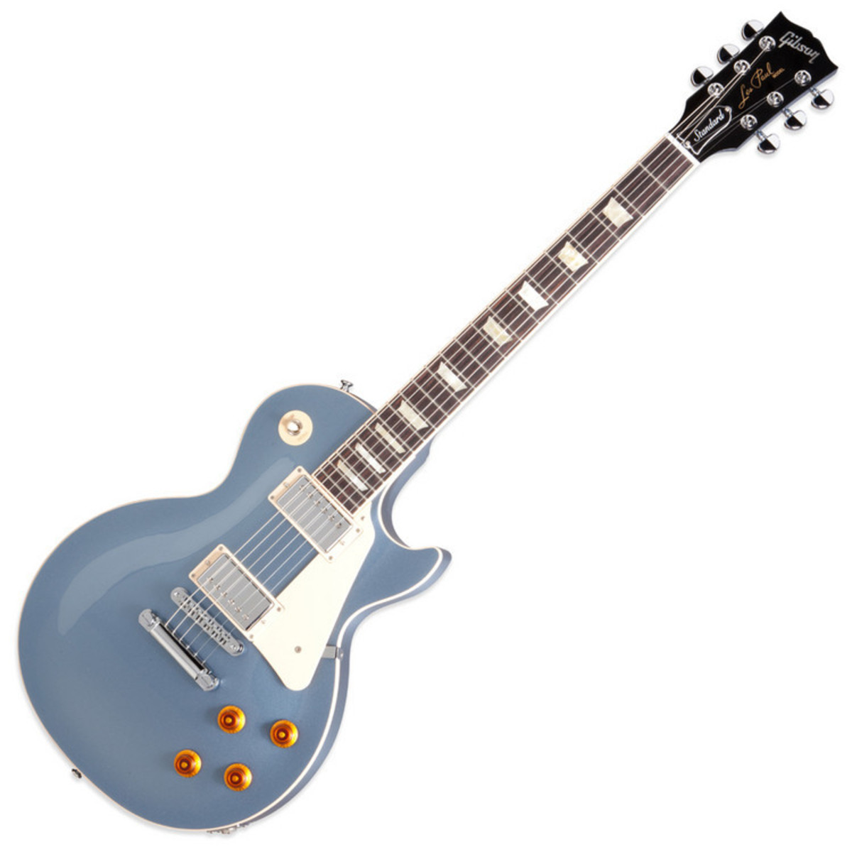 gibson les paul standard solid 2012 guitar blue mist with free gift at gear4music. Black Bedroom Furniture Sets. Home Design Ideas