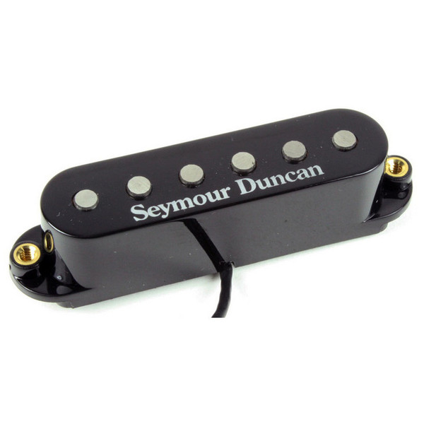 Seymour Duncan STK-S6 Custom Stack Plus Strat Bridge Pickup, Black