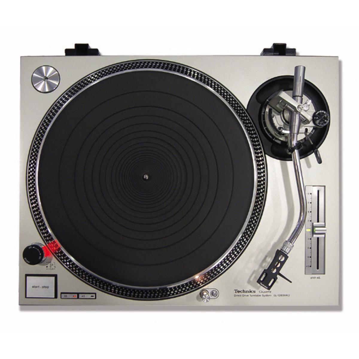 technics sl1200 mk2 dj turntable sl at gear4music. Black Bedroom Furniture Sets. Home Design Ideas