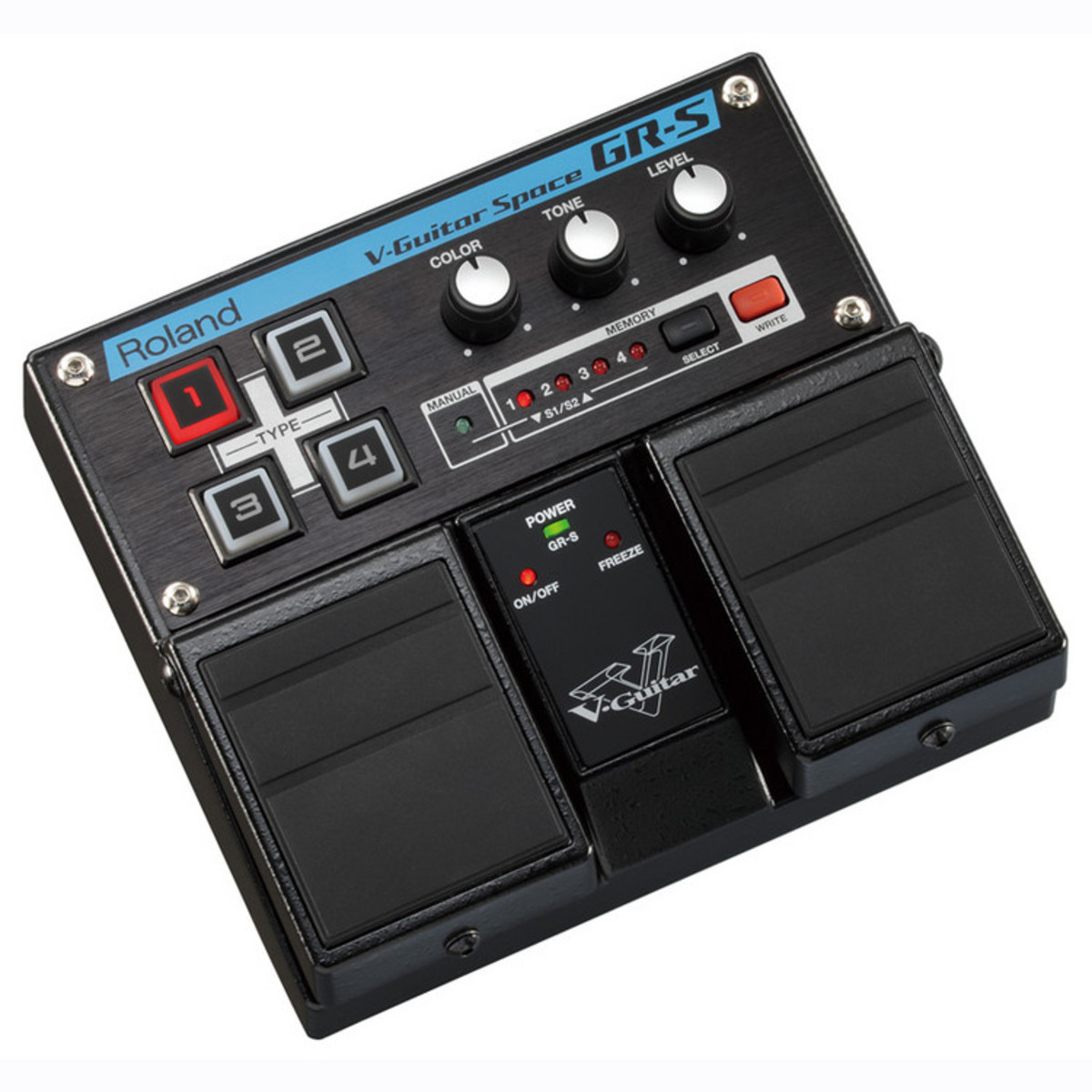 disc roland gr s v guitar space effects pedal at gear4music. Black Bedroom Furniture Sets. Home Design Ideas