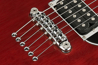 Ibanez Roadcore RC320 Electric Guitar, Trans Cherry - Bridge