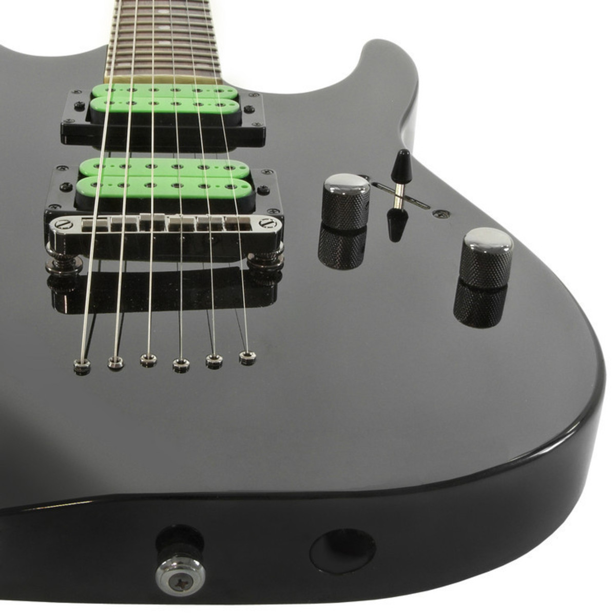 rocksmith xbox 360 black knight cl 22 electric guitar black at gear4music. Black Bedroom Furniture Sets. Home Design Ideas