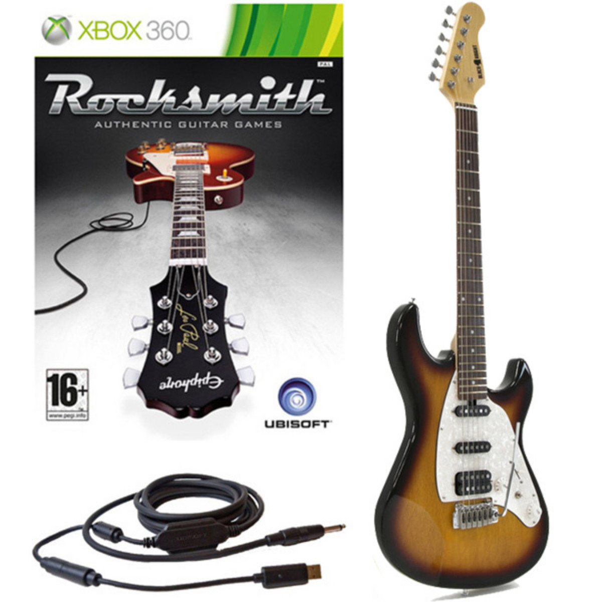 Rocksmith Xbox Black Knight Ae 109 Hss Electric Guitar