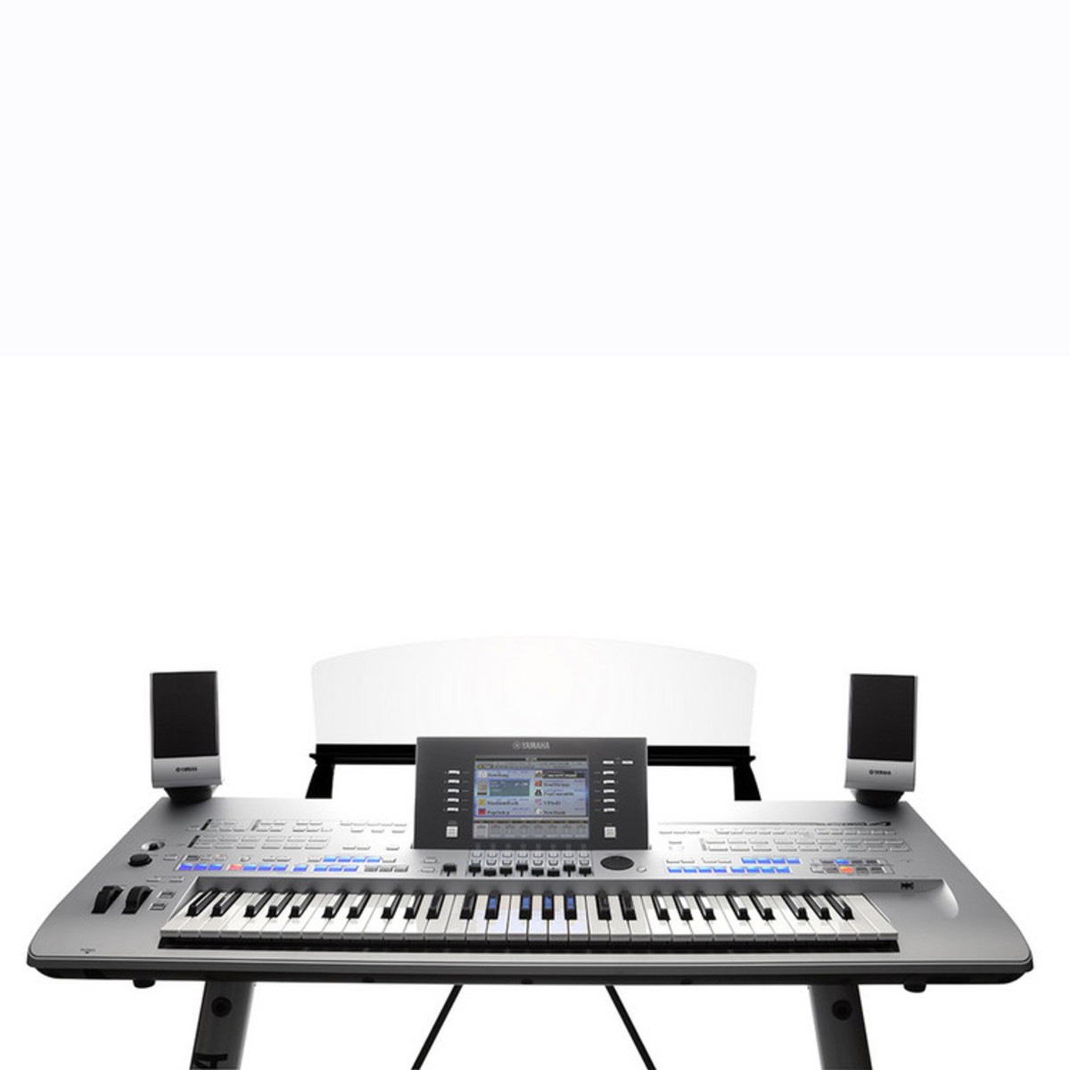 DISC Yamaha Tyros 4 Workstation With MS04 Speakers and FREE L7S Stand