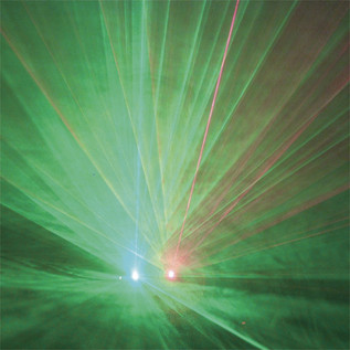 FXLab 100mW Red/50mW Green Diffraction Duo Laser