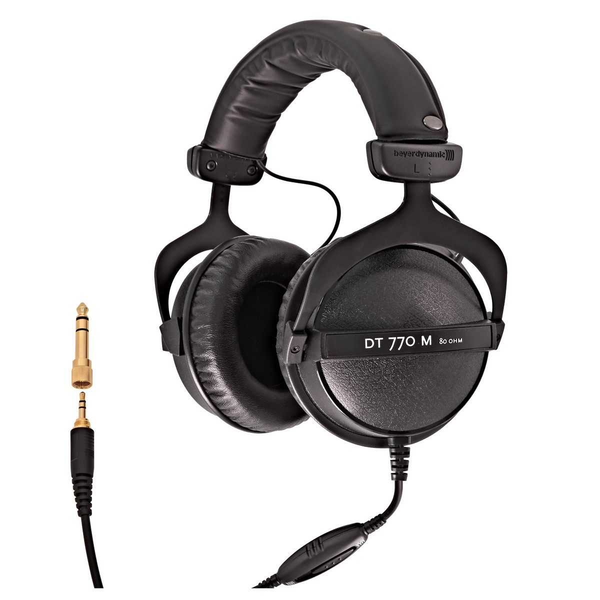 beyerdynamic dt 770 m monitoring headphones 80 ohm at. Black Bedroom Furniture Sets. Home Design Ideas