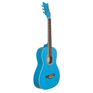 Daisy Rock Junior Miss Acoustic Short Scale, Cotton Candy Blue