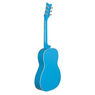 Daisy Rock Junior Miss Acoustic Short Scale, Cotton Candy Blue