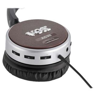 Vox amPhones Active AC30 Guitar Headphones (Close Up)