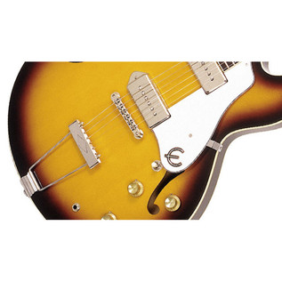 Epiphone Elitist 1965 Casino Outfit, Vintage Sunburst Bridge