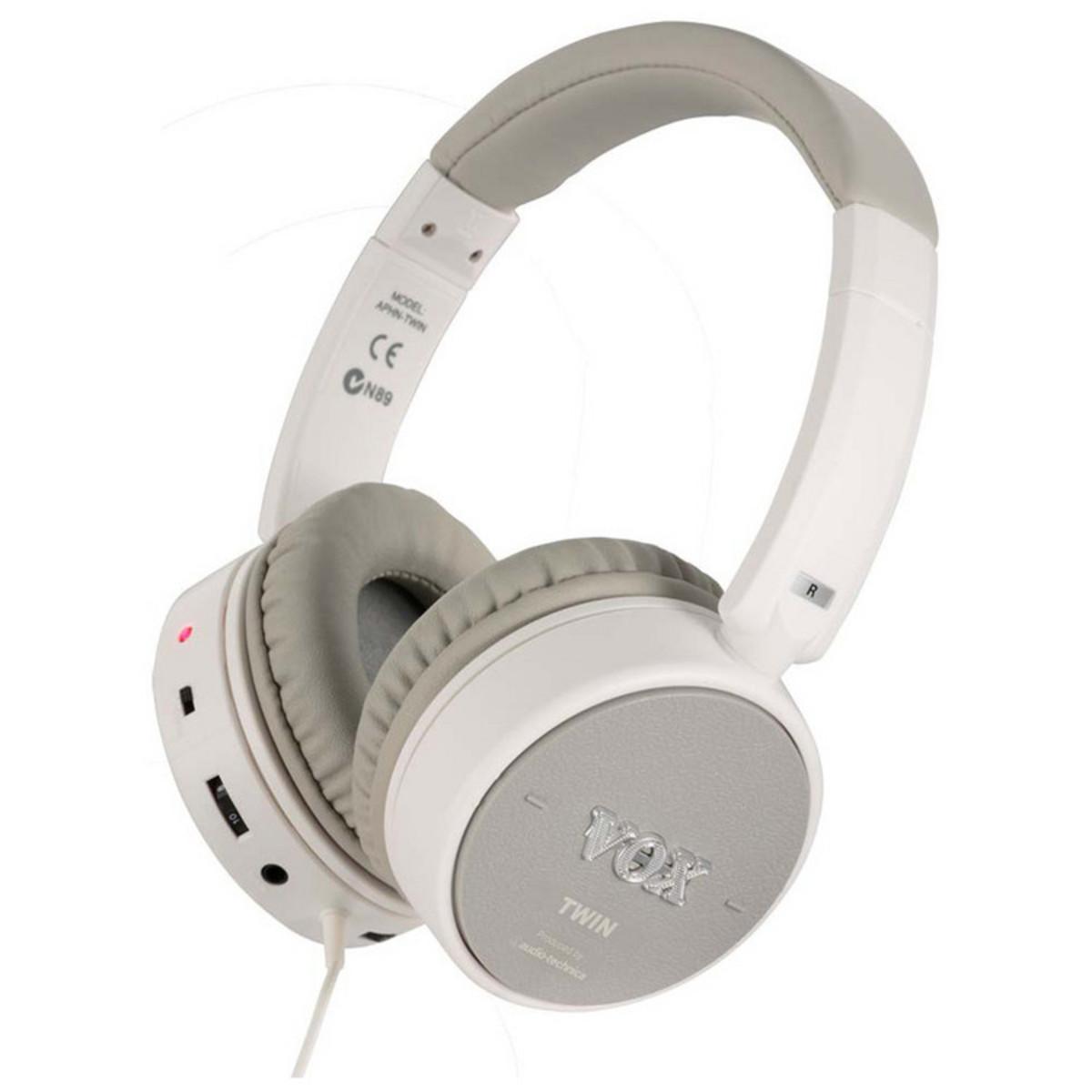 disc vox amphones active twin guitar headphones at gear4music. Black Bedroom Furniture Sets. Home Design Ideas
