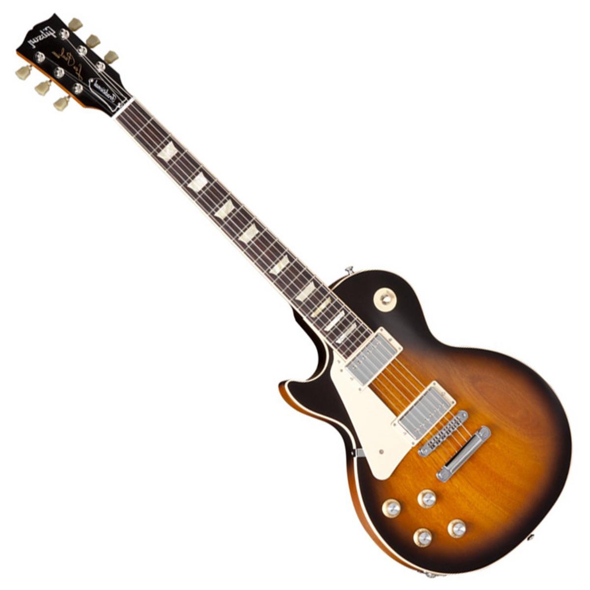 DISC Gibson Les Paul Traditional Left Hand Mahogany Top Vint Sunburst