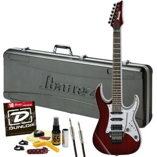 Ibanez Prestige RG2560ZEX Ltd Edition, Crimson Wine w/ FREE Gifts