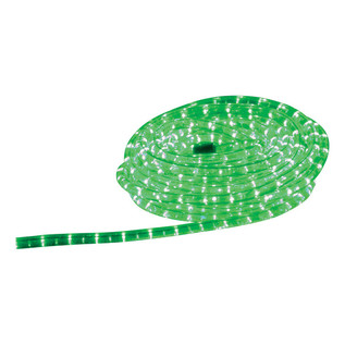 Electrovision Static Duralight Rope Light, 9m, Green