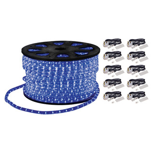 Electrovision Static Duralight Rope Light, 90m, Blue